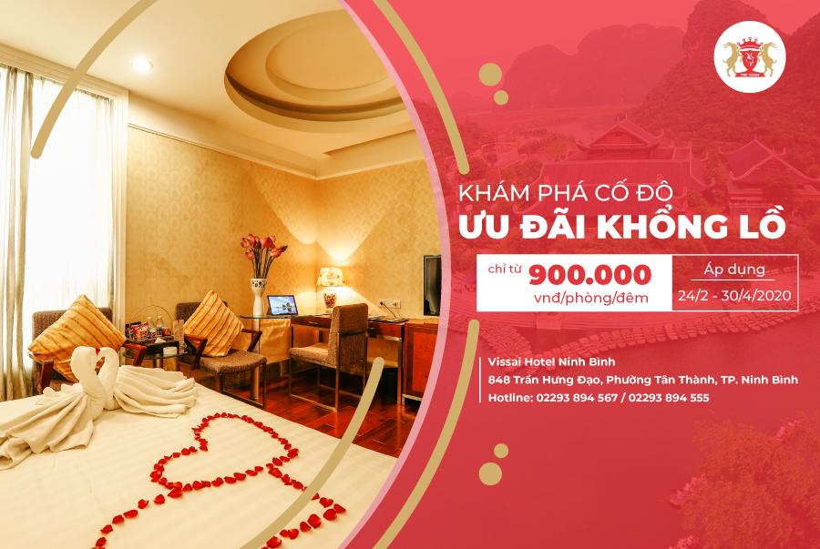 Khách sạn Vissai Ninh Bình hưởng ứng chương trình