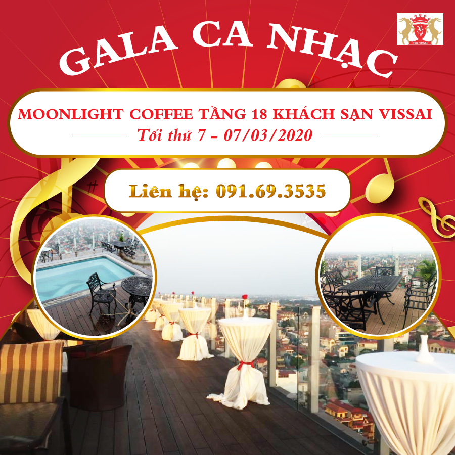 Gala ca nhac tai Moonlight coffee toi 7/3/2020