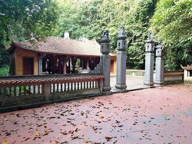 Đền thờ công chúa nước Lào tại cố đô Hoa Lư
