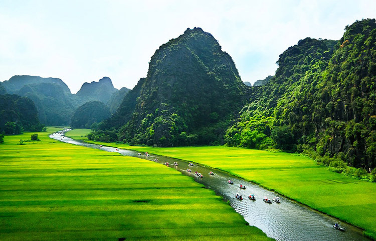 Những điểm du lịch lý tưởng khi đến Ninh Bình vào dịp cuối năm