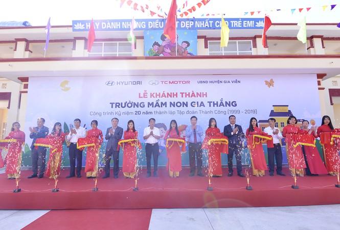 TC Motor khánh thành trường mầm non chuẩn quốc gia tại Ninh Bình