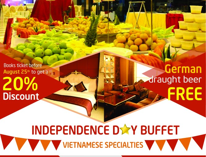 INDEPENDENCE DAY BUFFET
