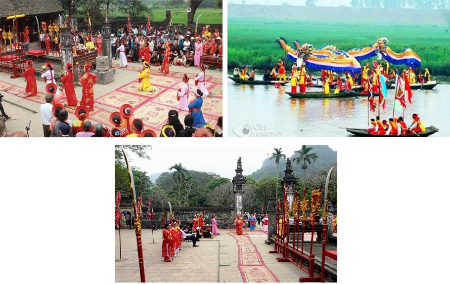 Hoa Lu festivals